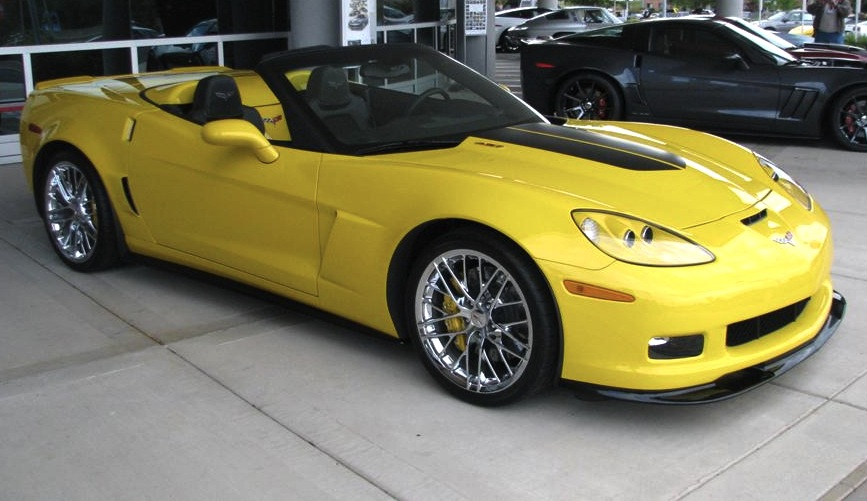 Velocity Yellow 2013 GM Chevrolet Corvette
