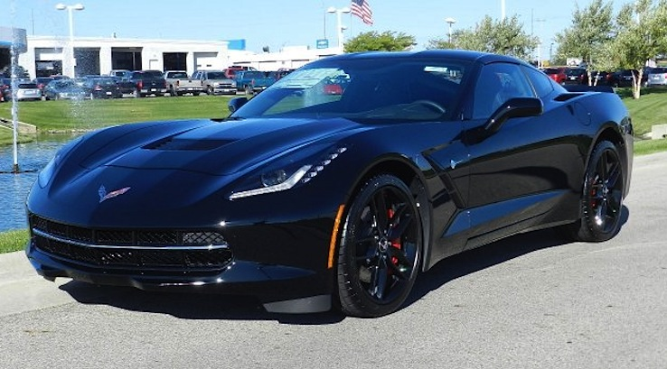 Black 2014 GM Chevrolet Corvette