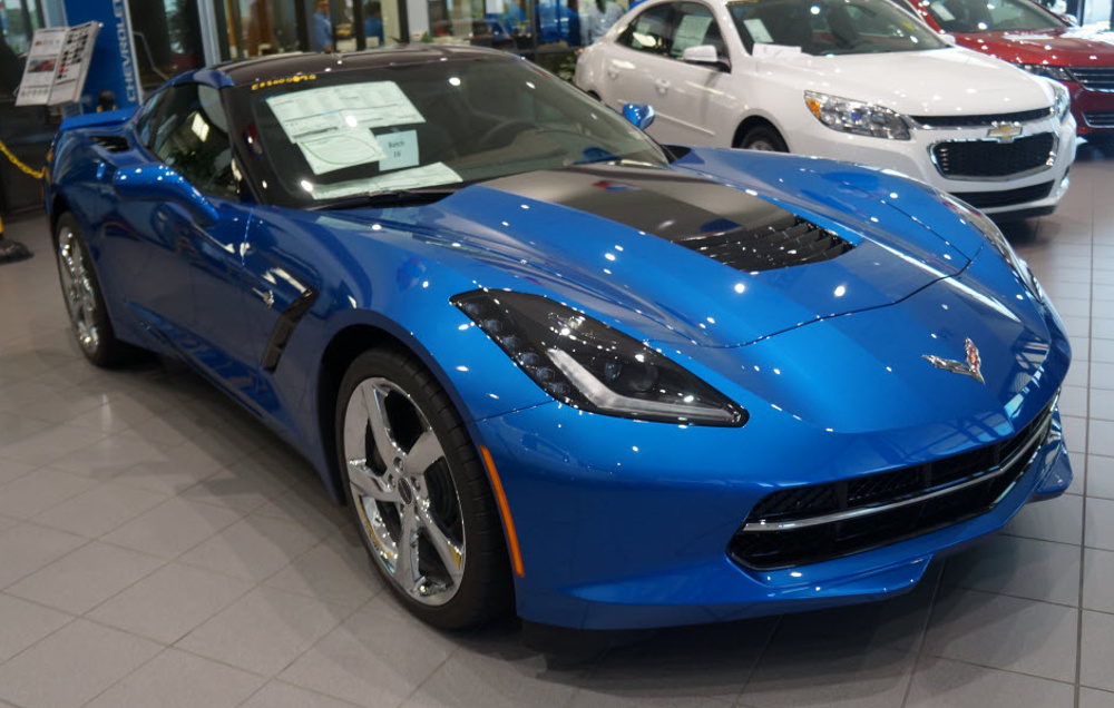 Laguna Blue 2014 Corvette Paint Cross Reference