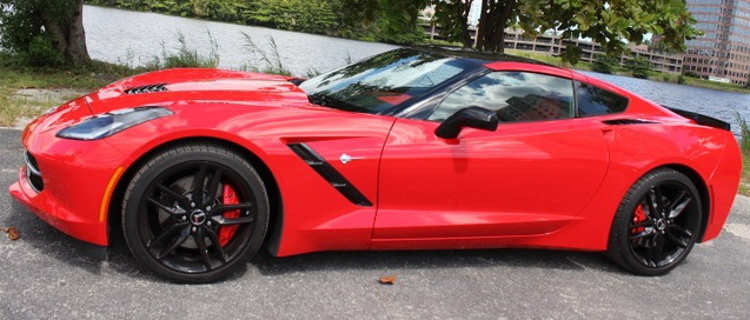 Torch Red 2014 GM Chevrolet Corvette