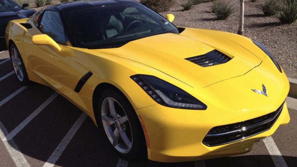 Velocity Yellow 2014 GM Chevrolet Corvette