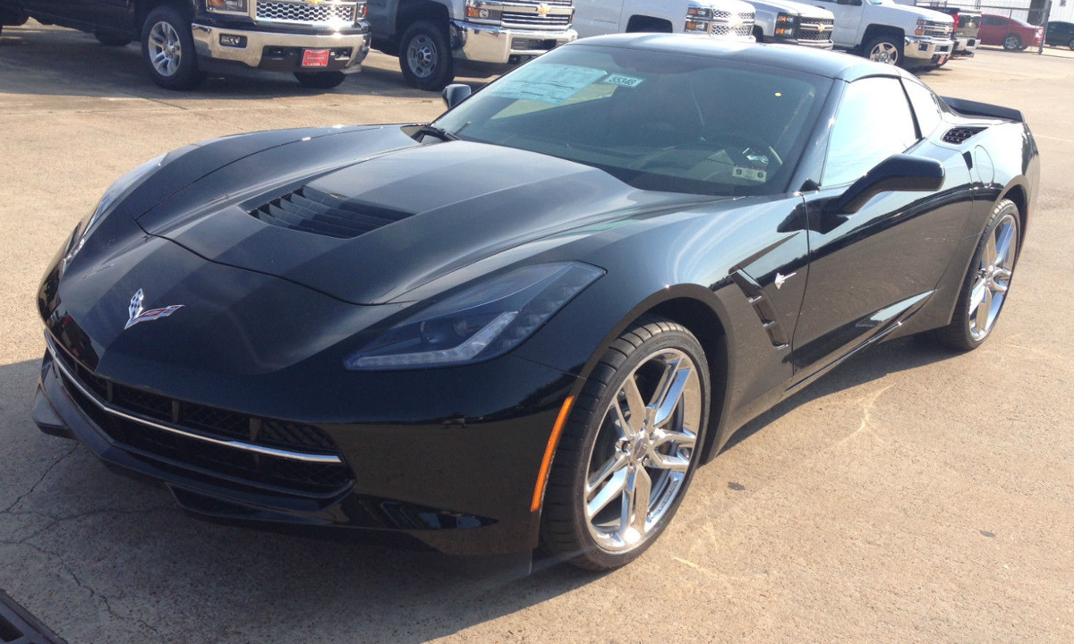 Black 2015 GM Chevrolet Corvette