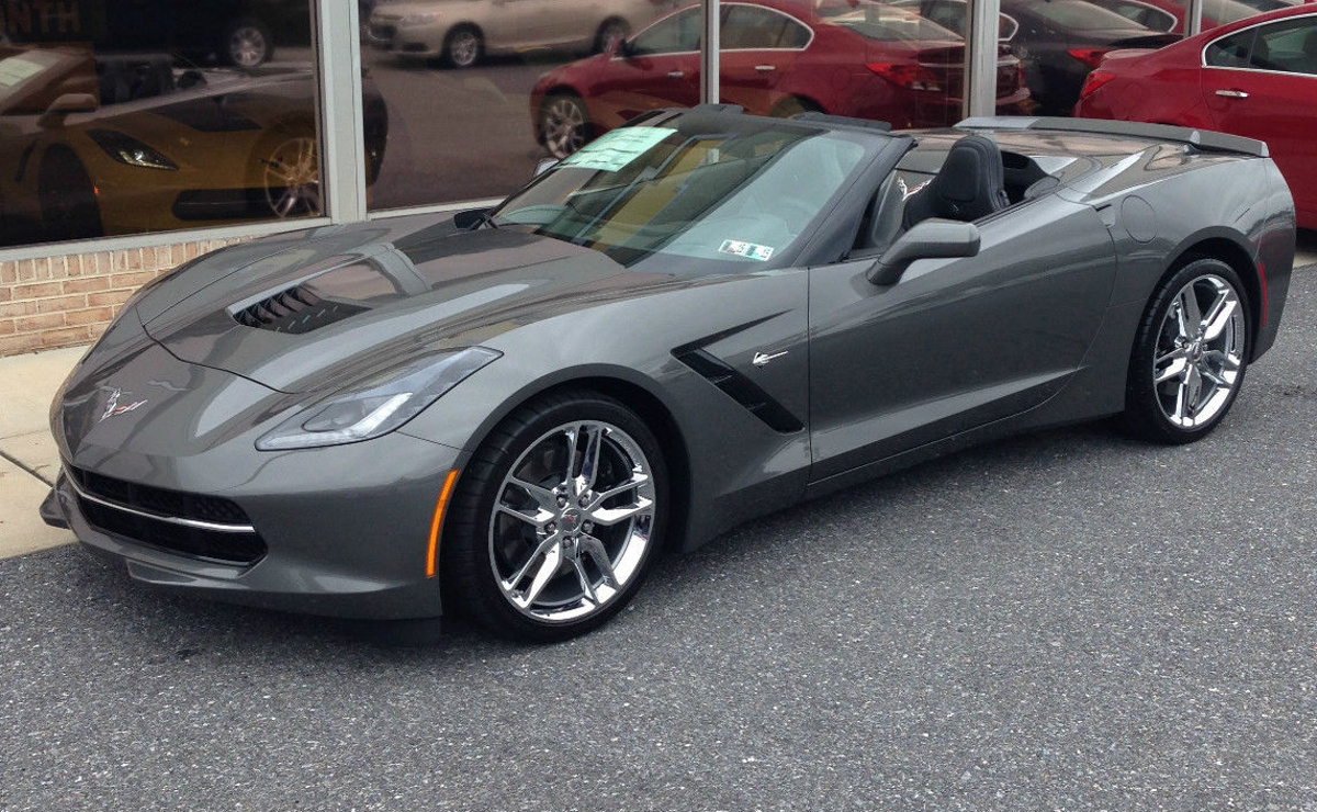 Shark Gray 2015 Corvette Paint Cross Reference 2014 Dodge Ram Colors Example Of On A Gm Chevrolet