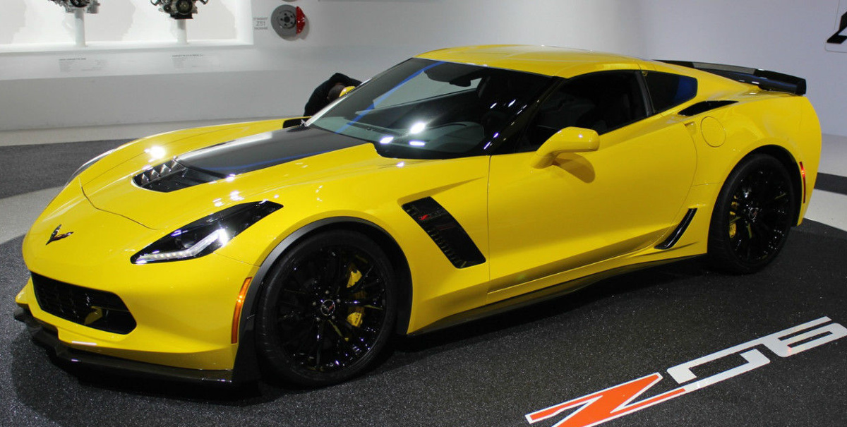 Velocity Yellow 2015 GM Chevrolet Corvette Z06