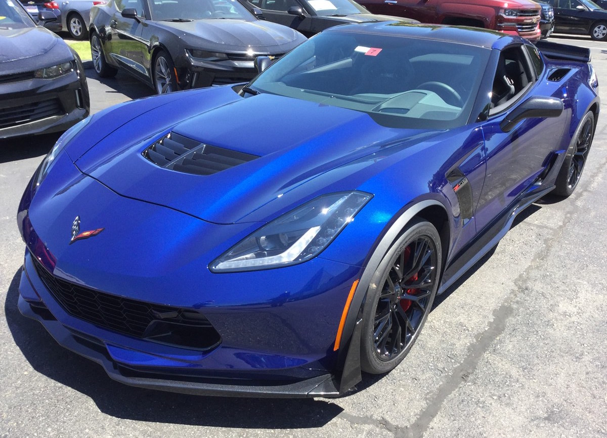 Admiral Blue 2016 GM Chevrolet Corvette
