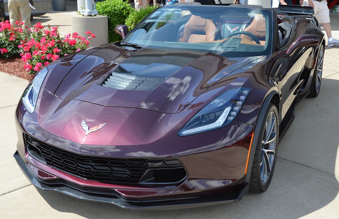 Black Rose 2017 GM Chevrolet Corvette
