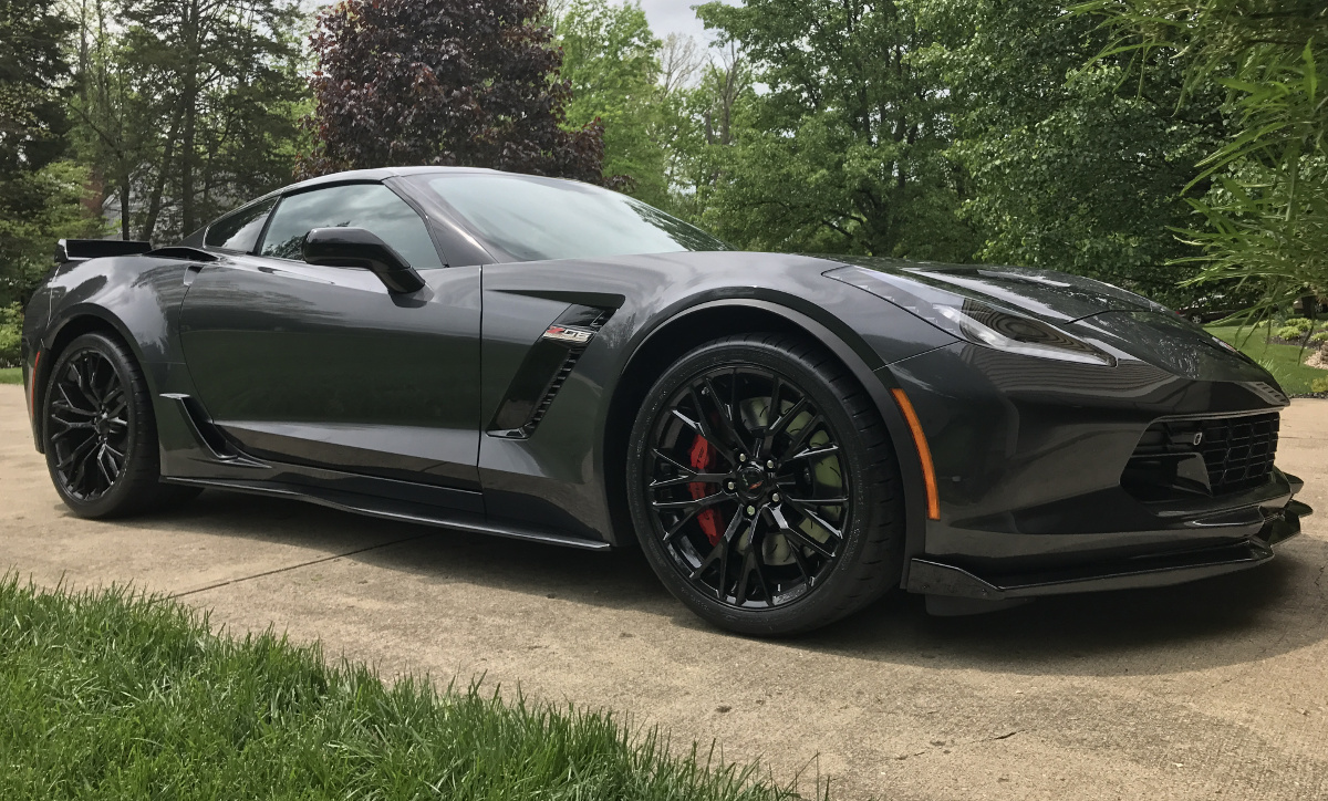 Watkins Glen Gray 2017 GM Chevrolet Corvette Z06