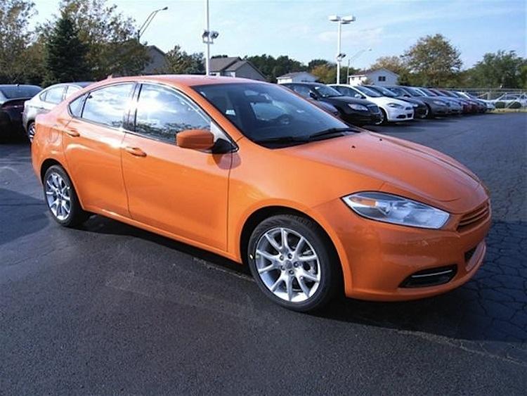 Header Orange 2013 Chrysler Dodge Dart