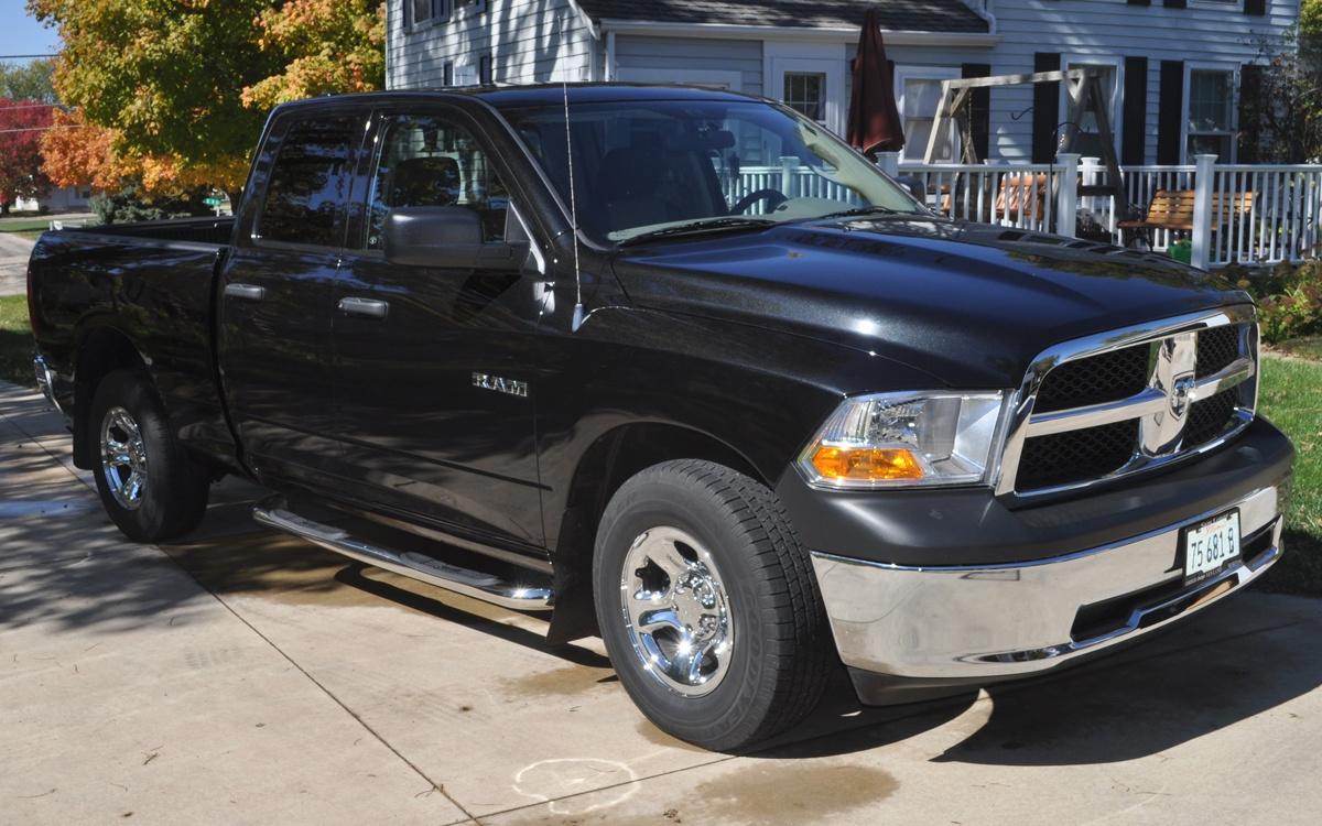 Brilliant Black 2010 Dodge Truck 1500 Ram