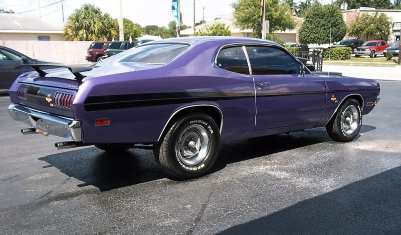 Plum Crazy 1971 Dodge Demon