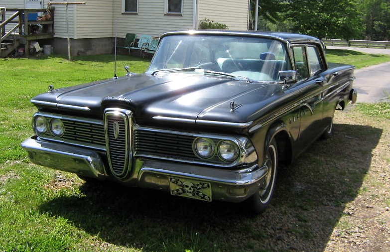 Jet Black 1959 Ford Edsel