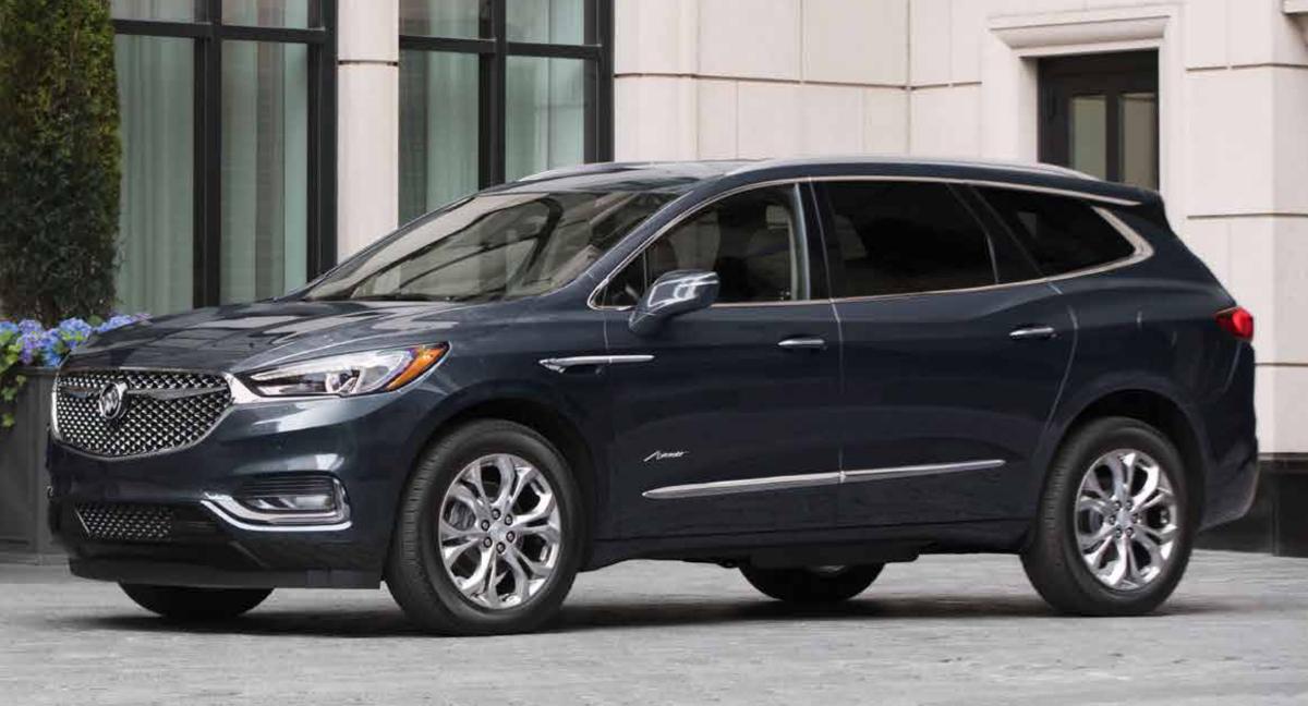 Dark Slate 2019 GM Buick Enclave
