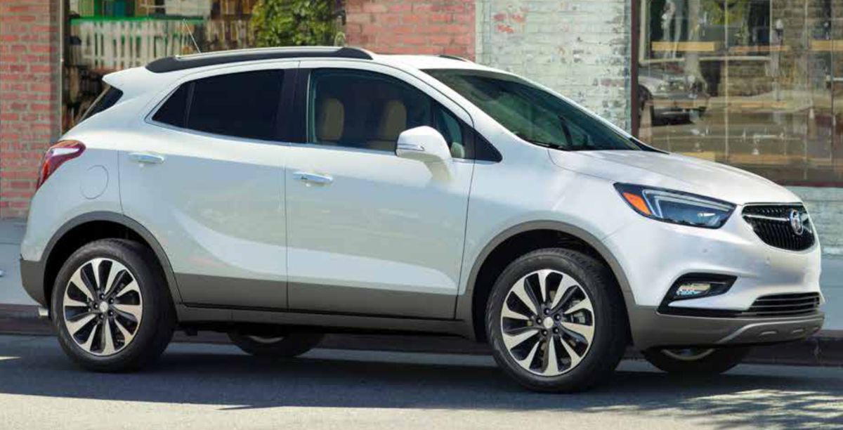 White Frost 2019 GM Buick Encore