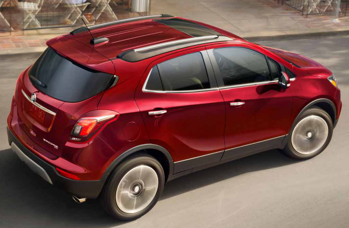 Winterberry Red 2019 GM Buick Encore