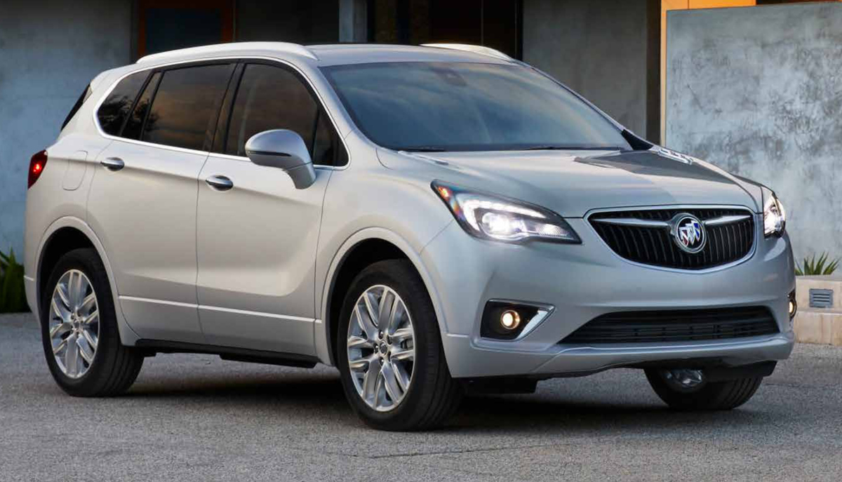 Galaxy Silver 2019 GM Buick Envision