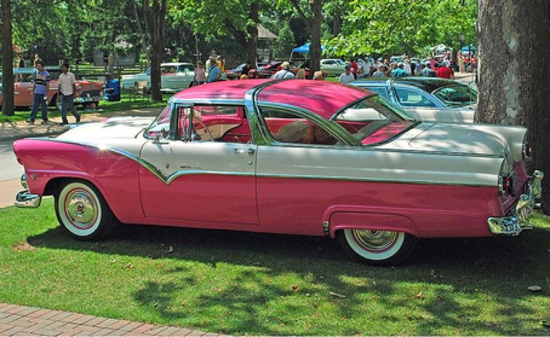 Tropical Rose 1955 Ford Fairlane