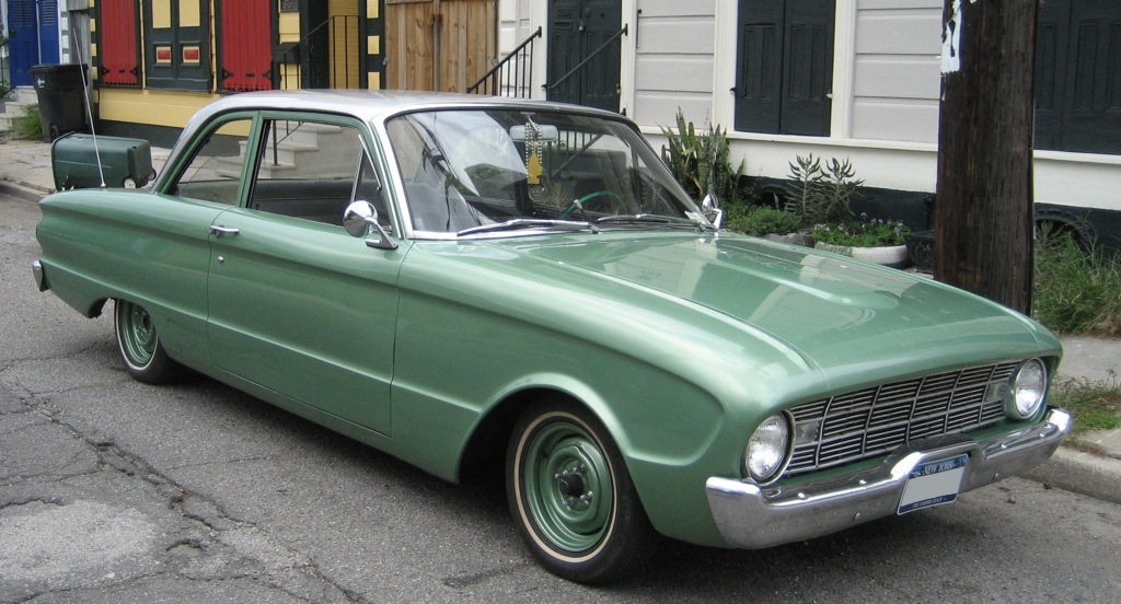 Meadowvale Green 1960 Ford Falcon