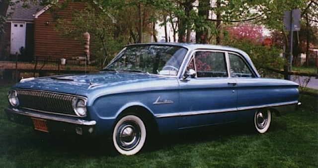 Viking Blue 1962 Ford Falcon