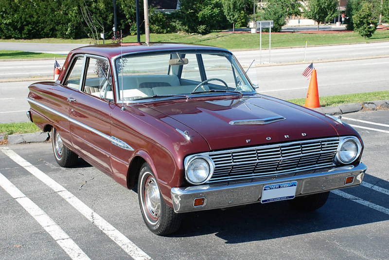 Heritage Burgundy 1963 Ford Falcon Futura - Paint Cross Reference