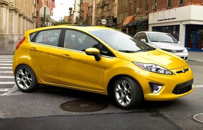 Ford springtime yellow paint code