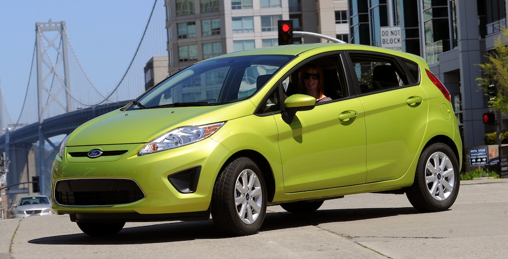 Lime Squeeze 2011 Ford Fiesta 