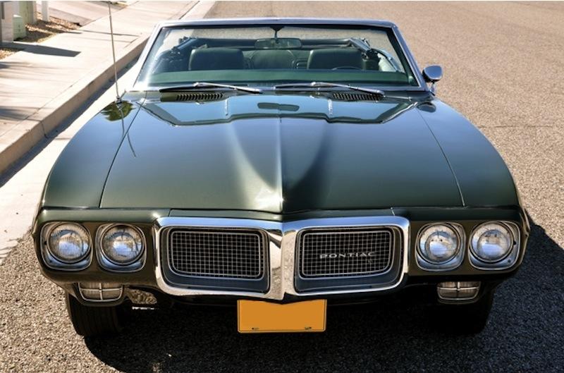 Midnight Green 1969 GM Pontiac Firebird Sprint