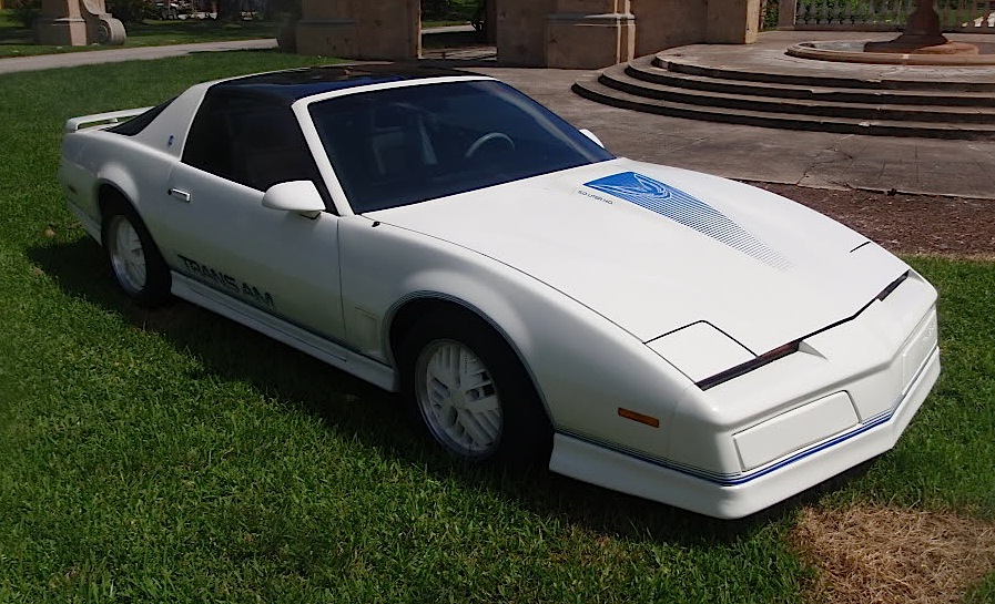 White 1985 GM Pontiac Firebird