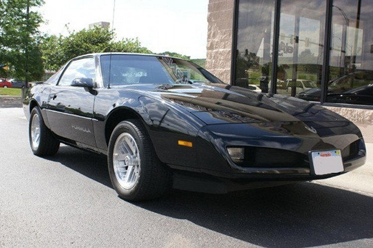 Black 1991 GM Pontiac Firebird
