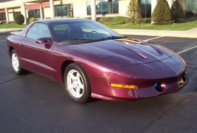 Gray Purple 1995 GM Pontiac Firebird
