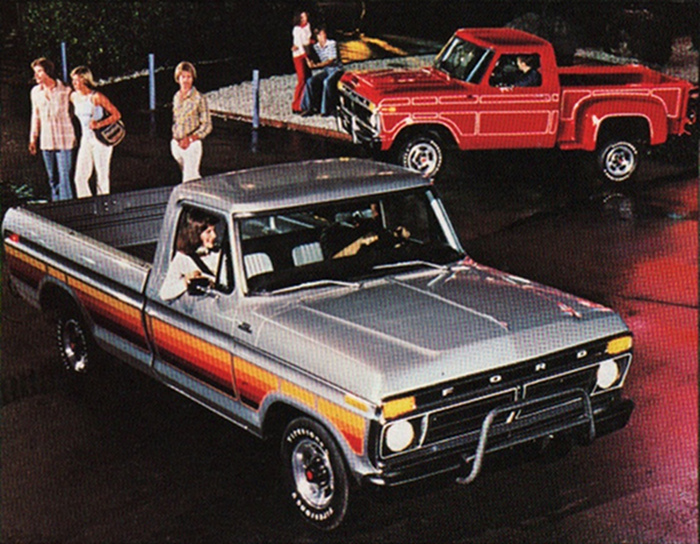 1977 ford truck color codes