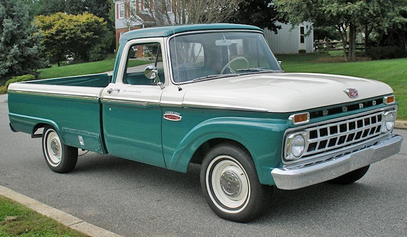 Holly Green 1965 Ford Truck