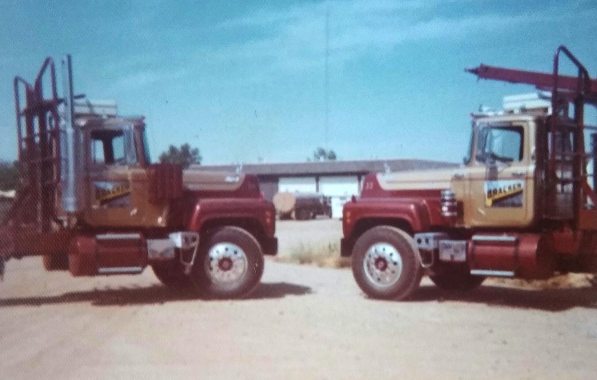 Embassy Brown 1972 Mack Truck