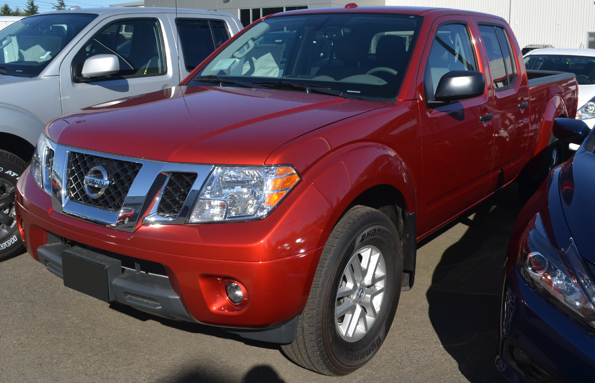 Lava Red 2017 Nissan Frontier