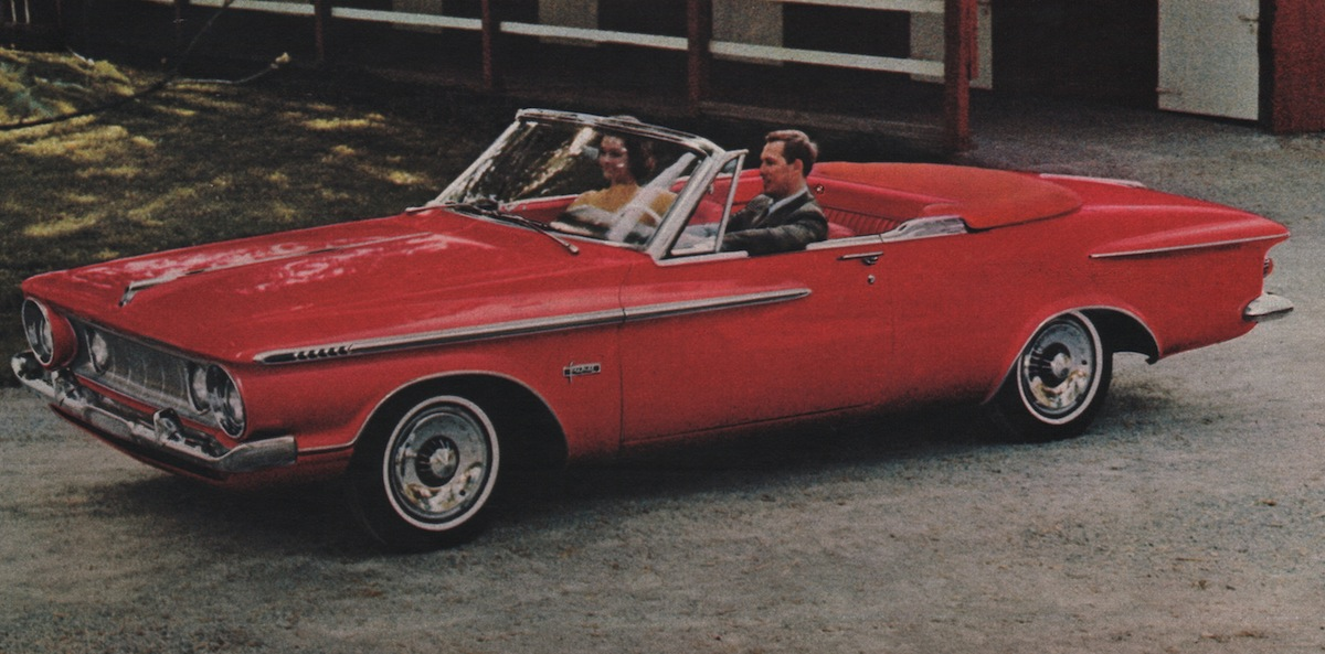Cherry Red 1962 Plymouth Fury