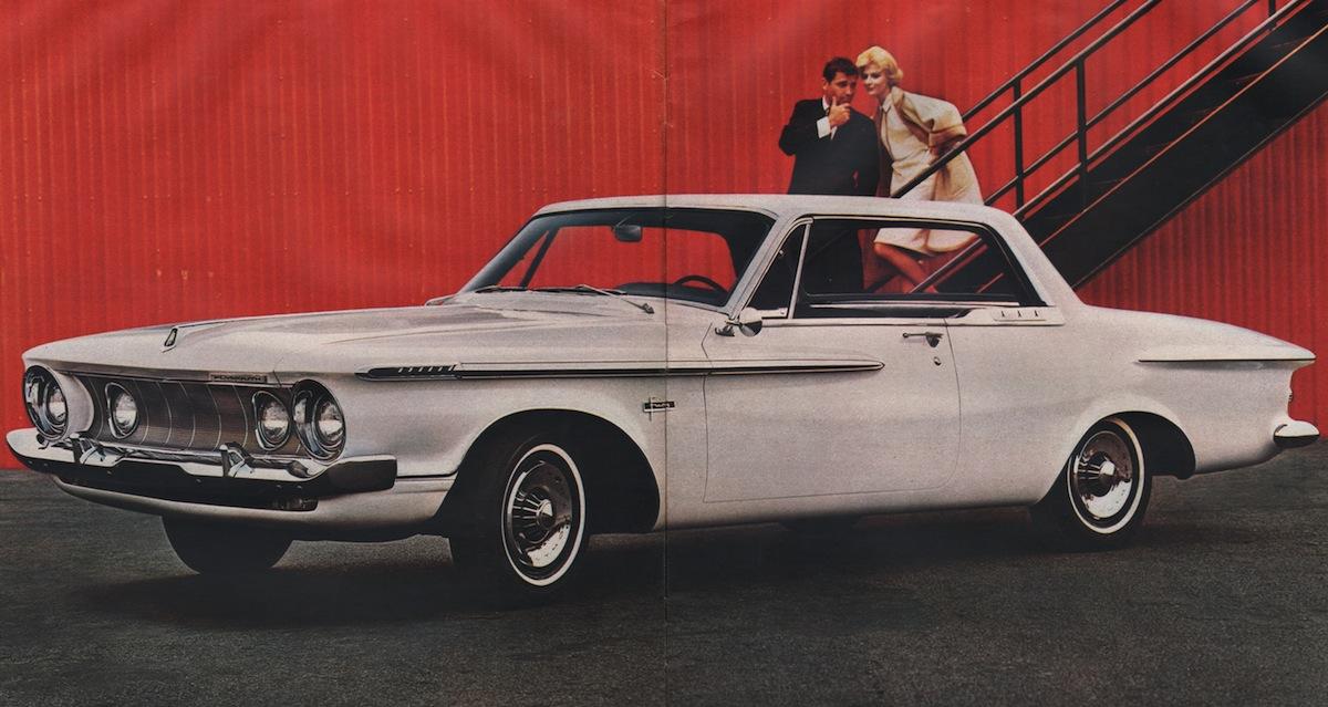 Ermine White 1962 Plymouth Fury