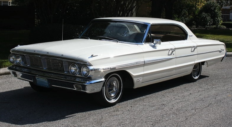 Wimbledon White 1964 Ford Galaxie 500XL