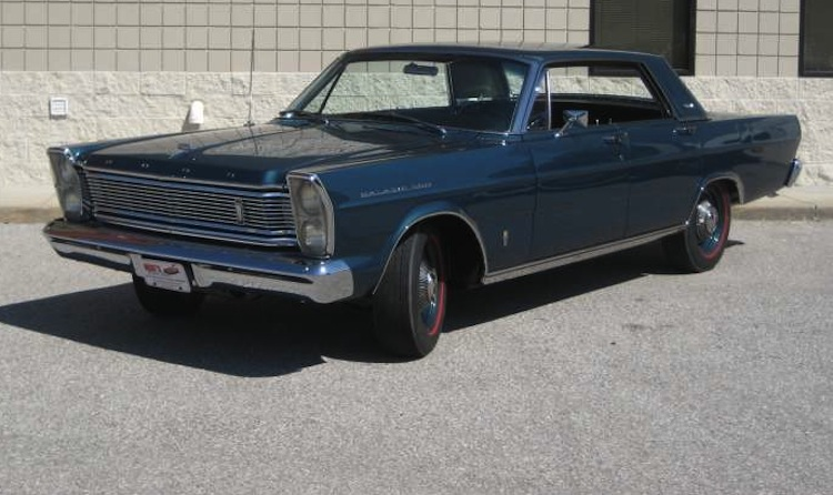 Twilight Turquoise 1965 Ford Galaxie