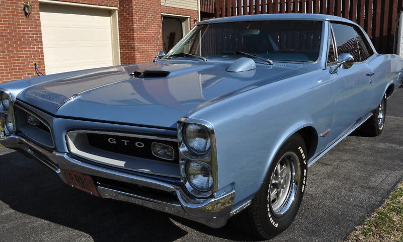 Fontaine Blue 1966 GM Pontiac GTO