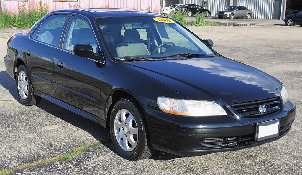 Nighthawk Black 2002 Honda Accord