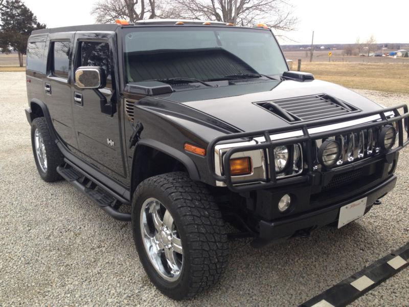 Black 2003 Hummer H2