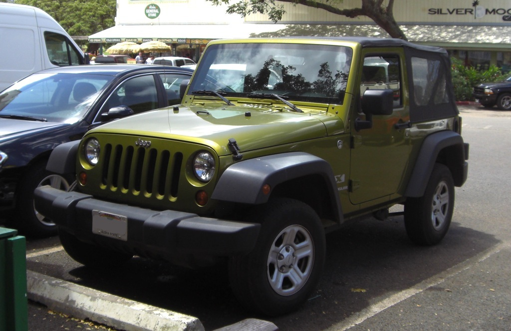 Rescue Green 2007 Jeep Paint Cross Reference