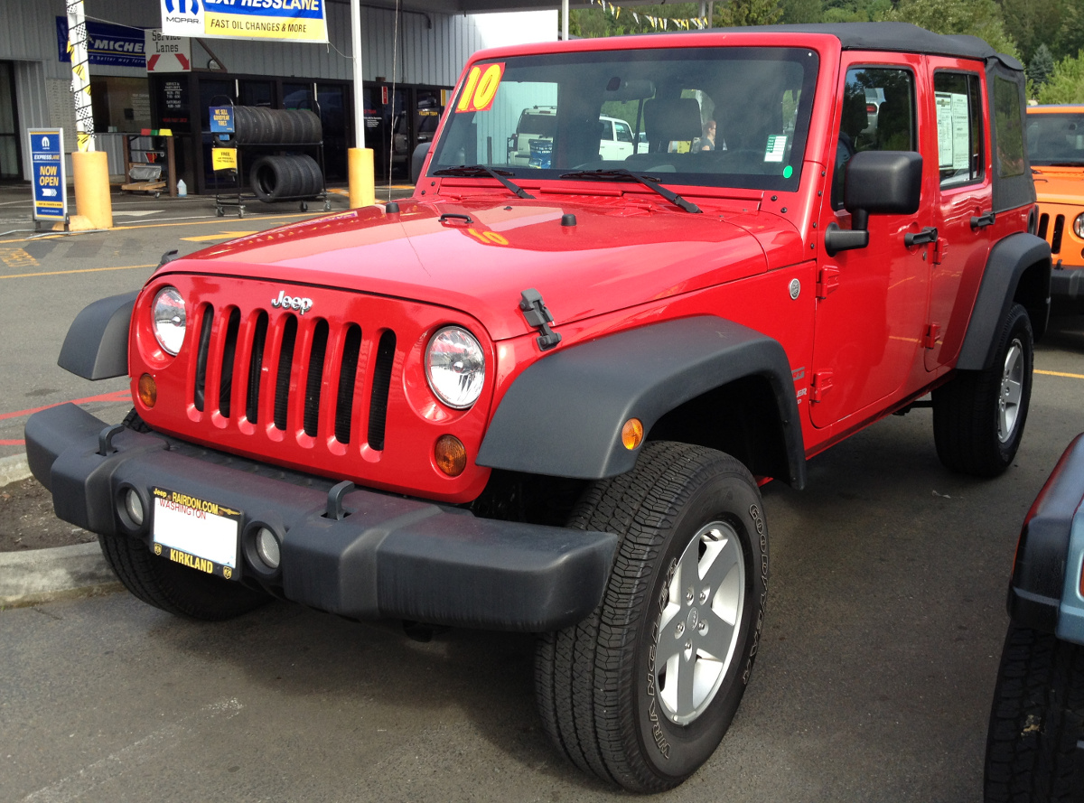 Flame Red 2010 Jeep