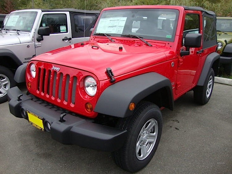 Flame Red 2017 Jeep