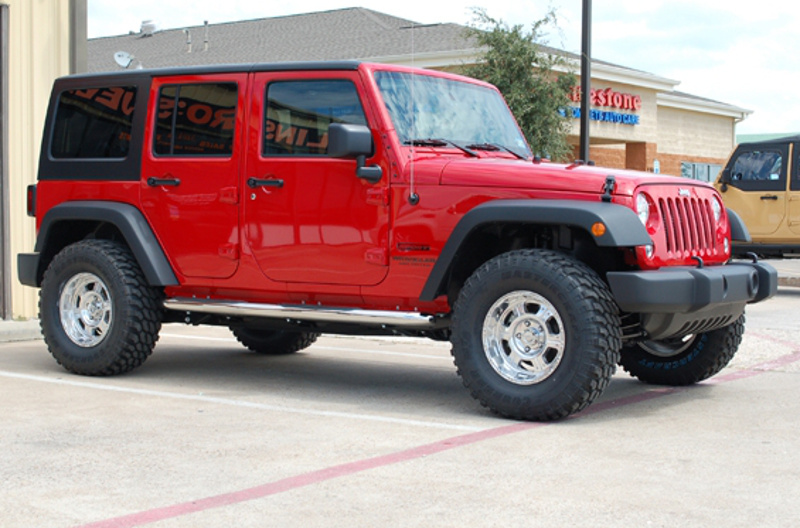 Flame Red 2014 Jeep Wrangler