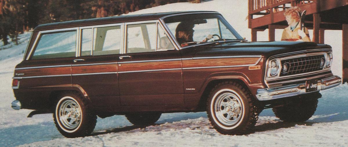 Mocha Brown 1978 Jeep Wagoneer