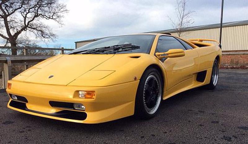 Superfly Yellow 2000 Lamborghini Diablo Paint Cross Reference
