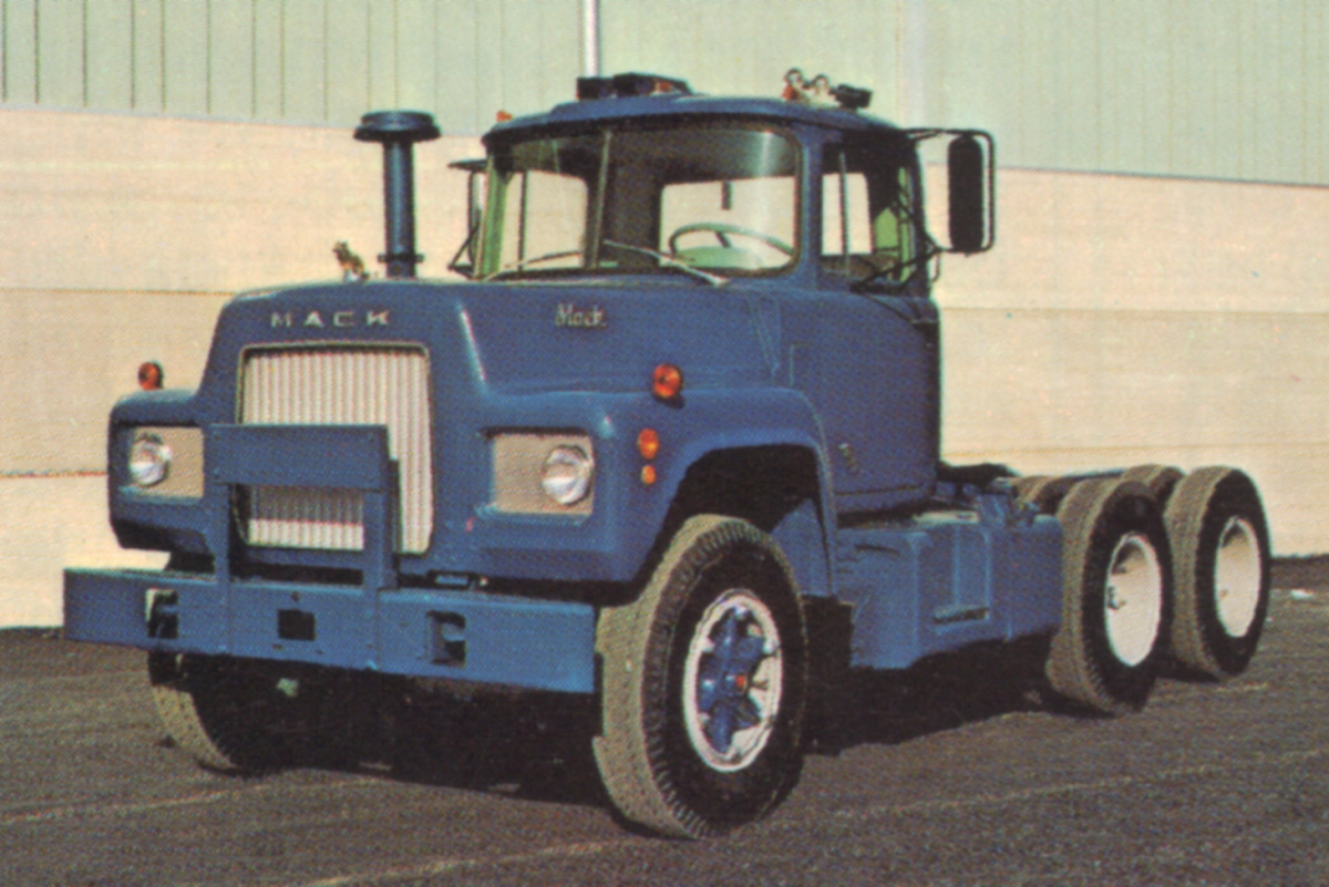 1968 Mack Truck : Truck r paint cross reference