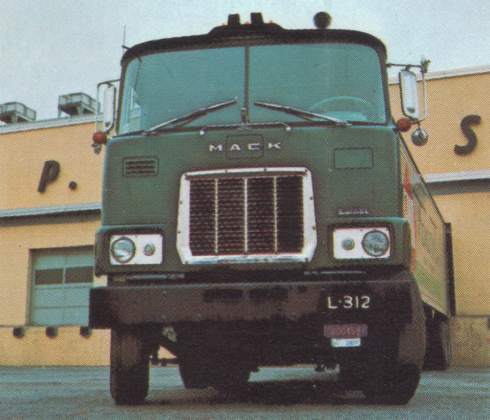 1968 Mack Truck : Truck interstater paint cross reference