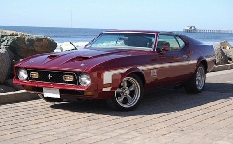 1971 Ford mustang mach 1 colors #5