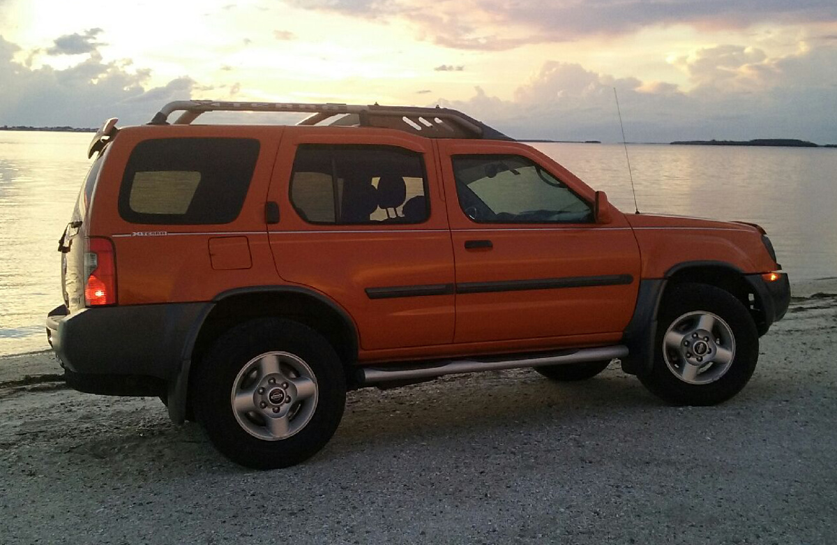 Atomic Orange 2003 Nissan Xterra